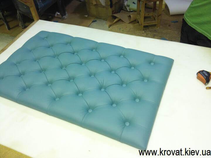 Мягкая панель для кровати своими руками 17