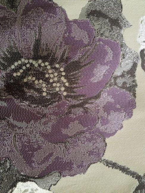 цветы на ткани
