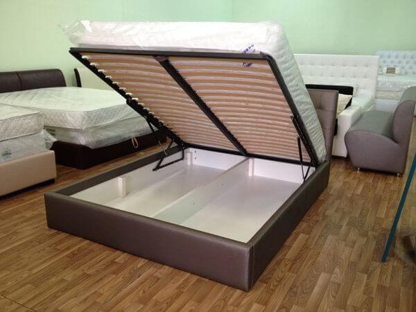 2х спальная кровать с ящиком на заказ