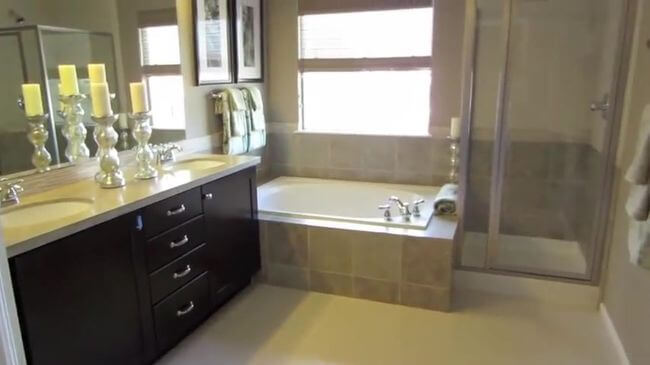 уютная мебель для ванной