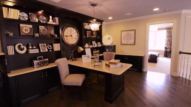классическая мебель для рабочего кабинета