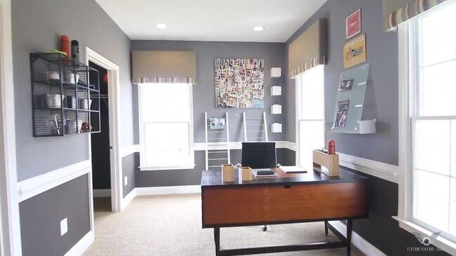 замечательная мебель для рабочего кабинета