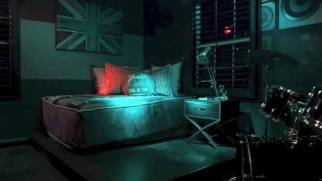 комфортная кровать для школьника