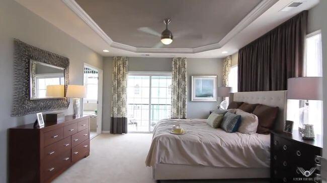 уютная кровать