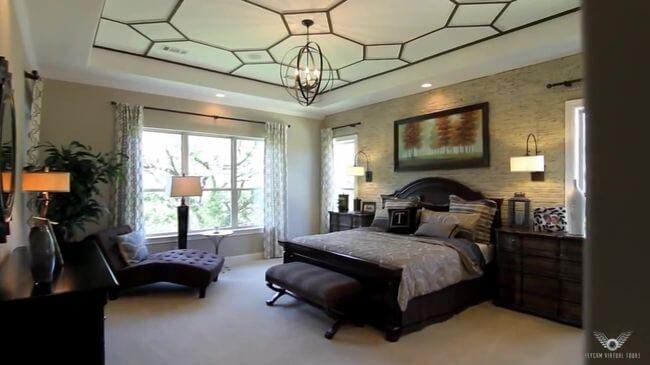 богатая кровать