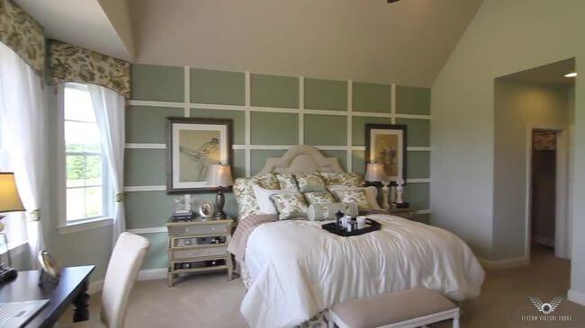 красивая кровать в спальню