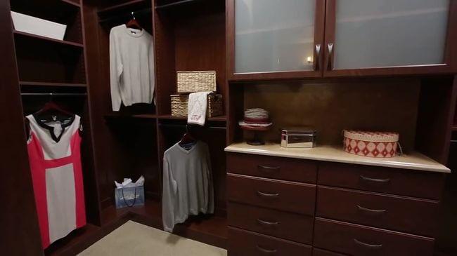 хорошая мебель для гардеробной
