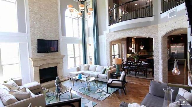 современная гостиная