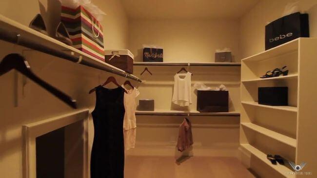 гардеробная частного дома