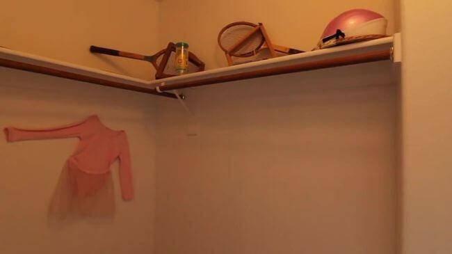 маленькая гардеробная