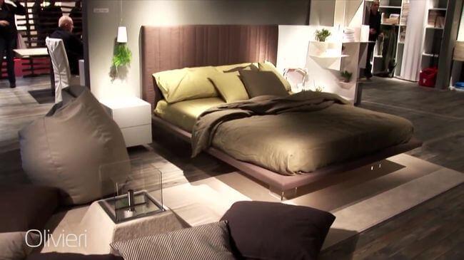 мягкая кровать производства Украина
