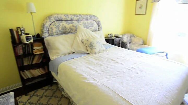 кровать с красивым изголовьем Киев
