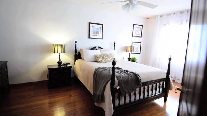 кровать в оригинальном дизайне