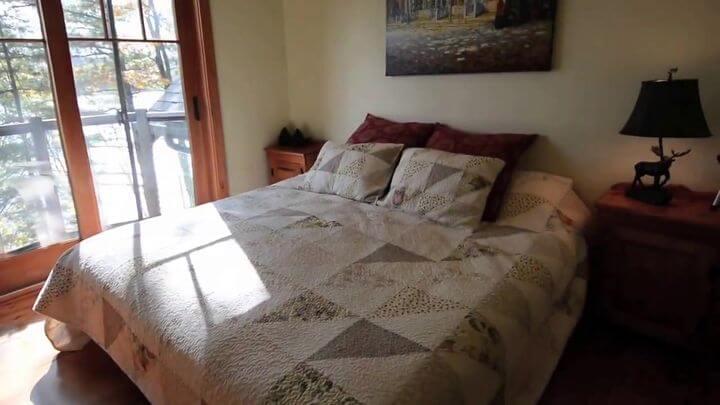 кровать в современном дизайне