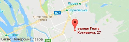 карта адреса МЕС Компані