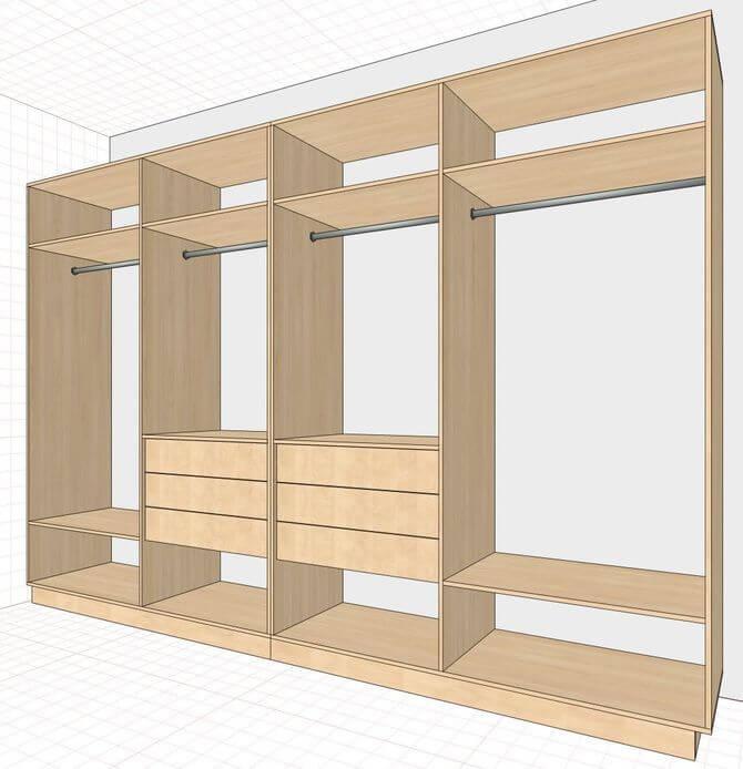 дизайн проект шкафа