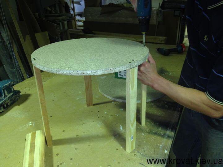 Как сделать круглый пуф самостоятельно