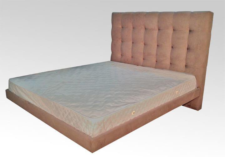 кровать парящая над полом на заказ
