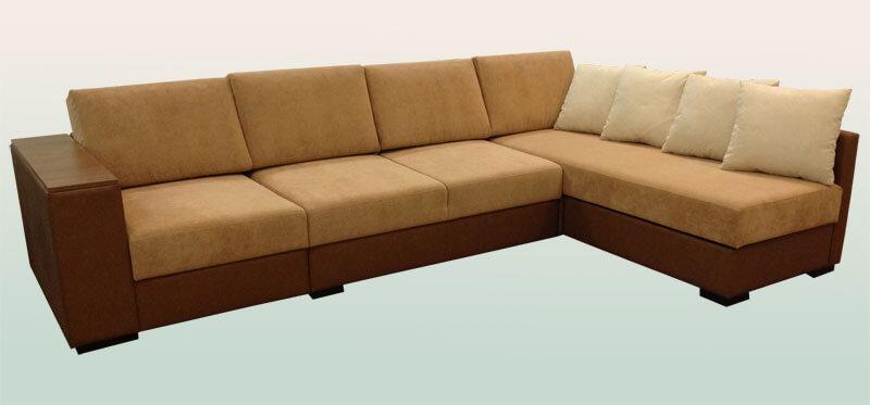 угловой диван в гостиную на заказ купить в киеве