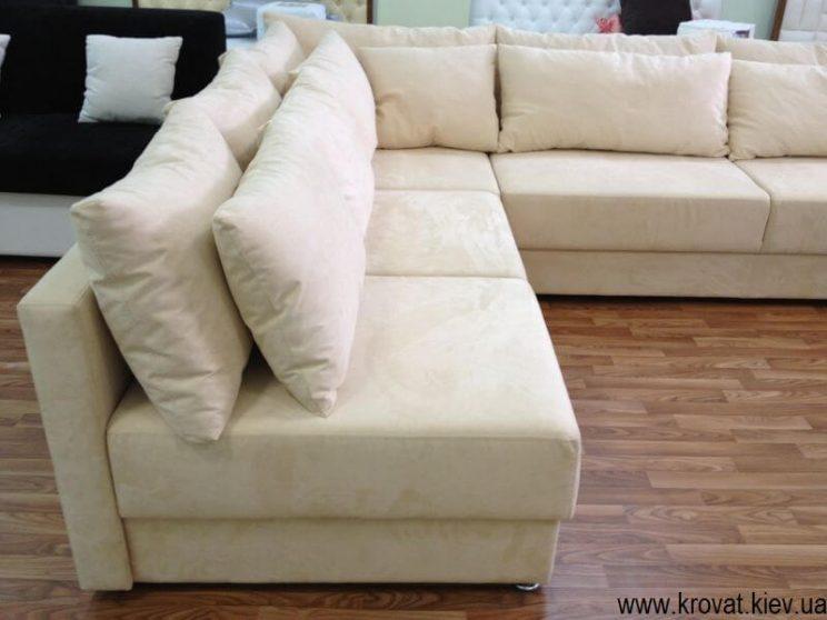 большой диван на заказ