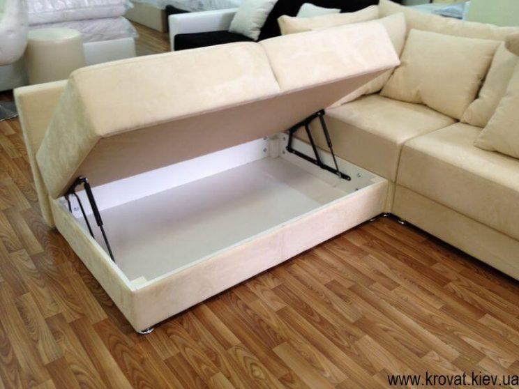 диван с ящиком