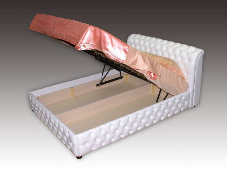 Chester ottoman bed frame on order