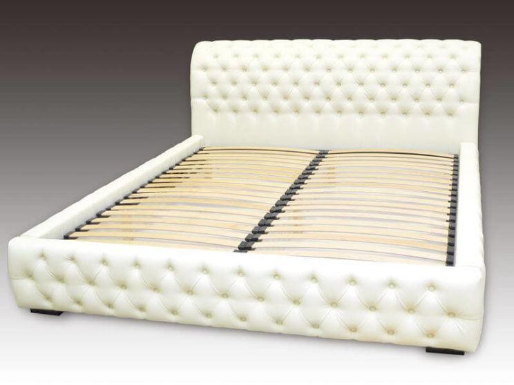 ліжко Честер з капітоне