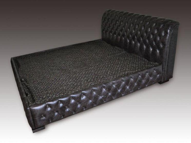 ліжко Честер в чорному кольорі