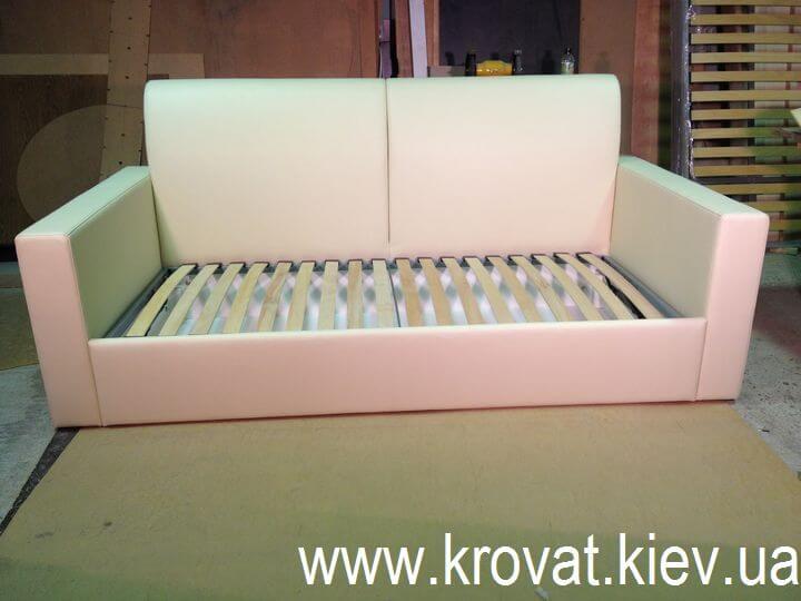 детский диван кровать с бортиками