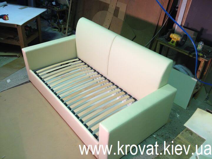 детская кровать диван с ящиками