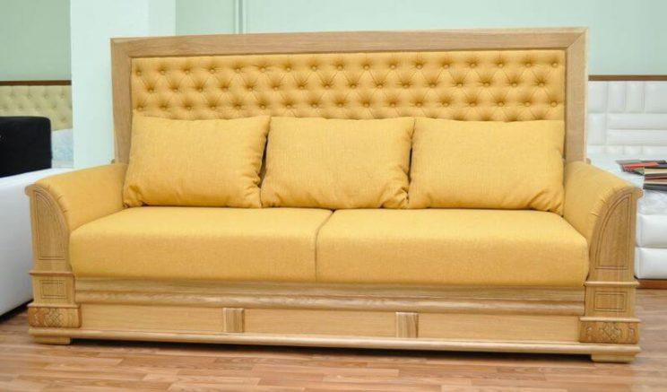 диван из дерева