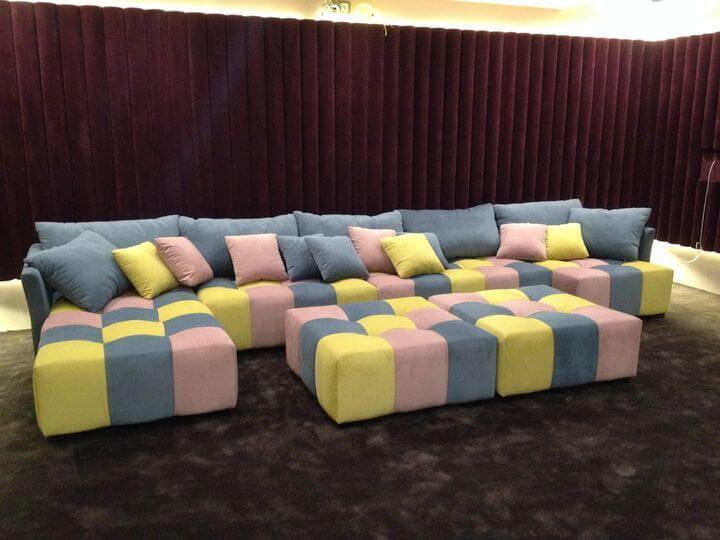 диван в домашний кинотеатр