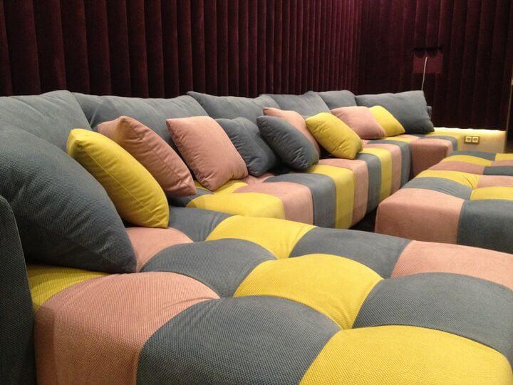 дивани в домашній кінотеатр