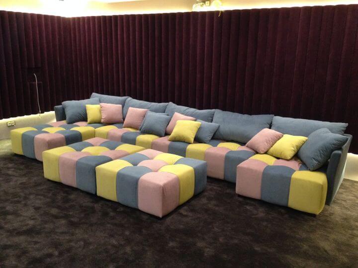 диван для кинотеатра
