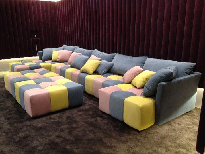 дивани для кінотеатру