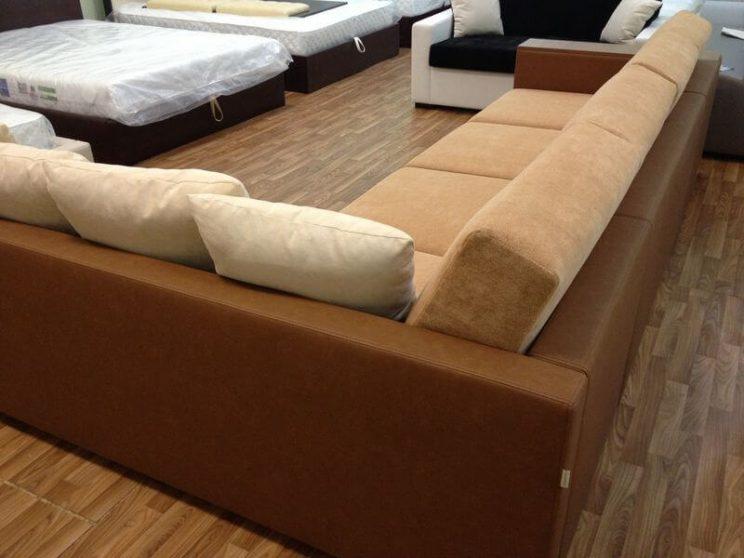 бежевый диван на заказ