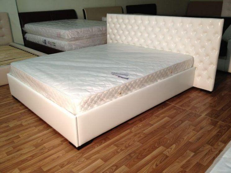 белая кровать на заказ
