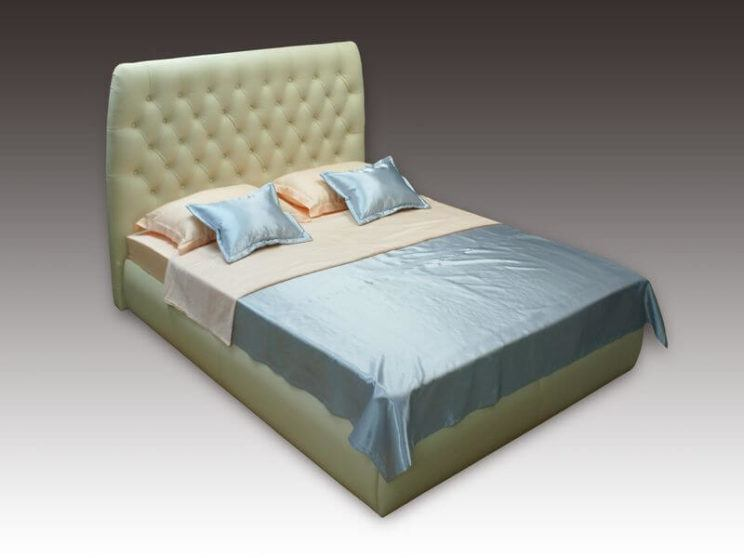 Ліжко Елізабет з високим узголів'ям на замовлення