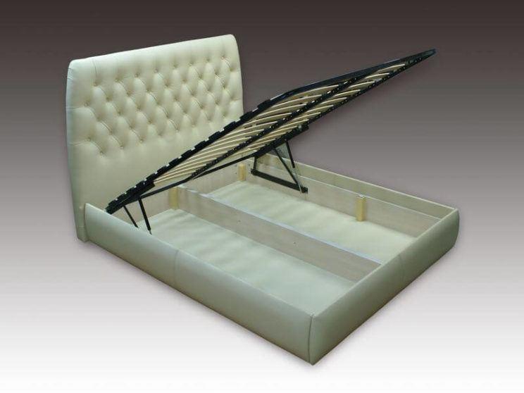 Кровать Элизабет с коробом для белья на заказ
