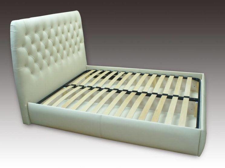 Кровать Элизабет с пуговицами на заказ