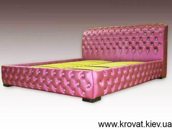 фіолетове ліжко зі стразами на замовлення