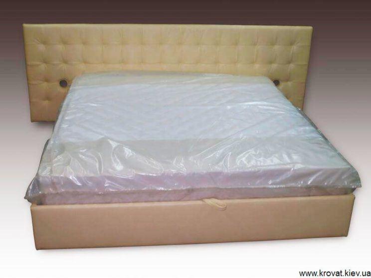 кровать Карина с широкой спинкой на заказ