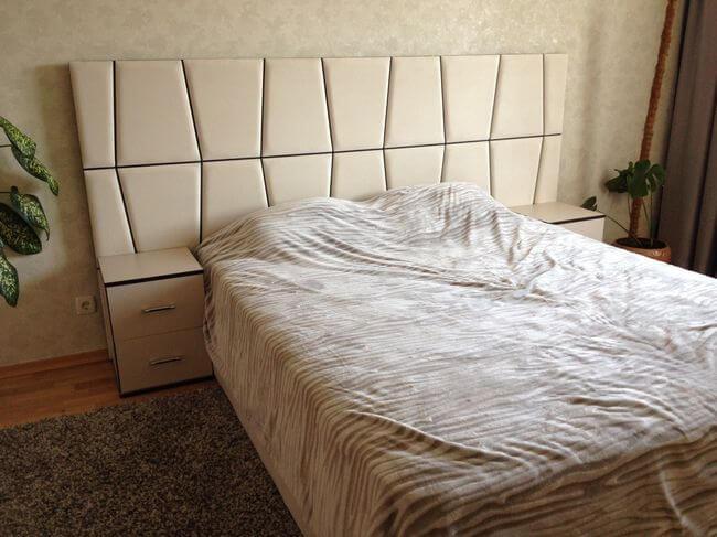 ліжко Верона з широкою спинкою на замовлення