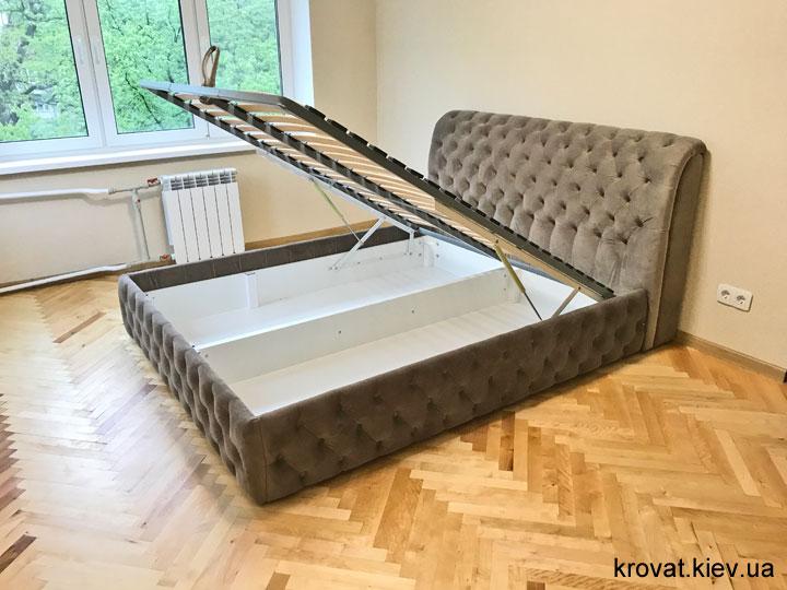 ліжко честер 160х190 з підйомним механізмом на замовлення