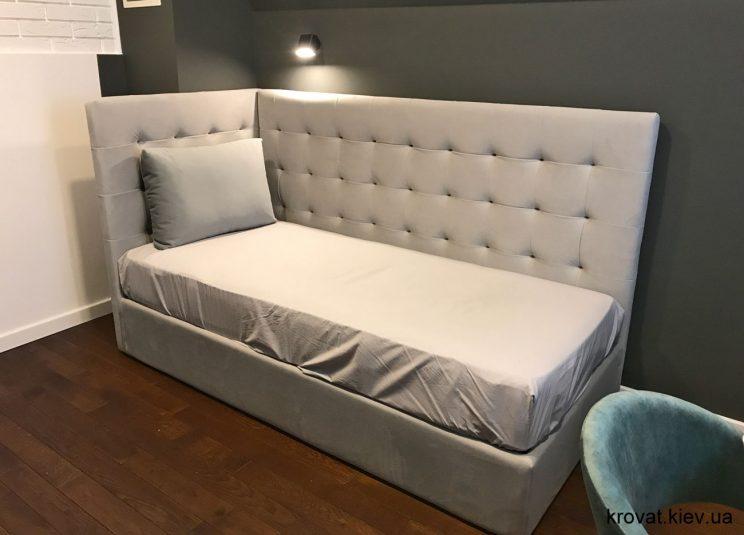 кровать для подростка в интерьере на заказ