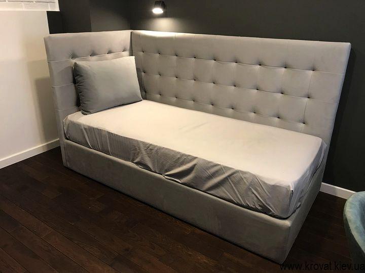 односпальная кровать для подростка на заказ