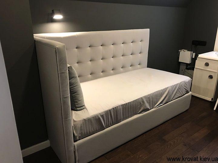 угловая кровать для подростка на заказ