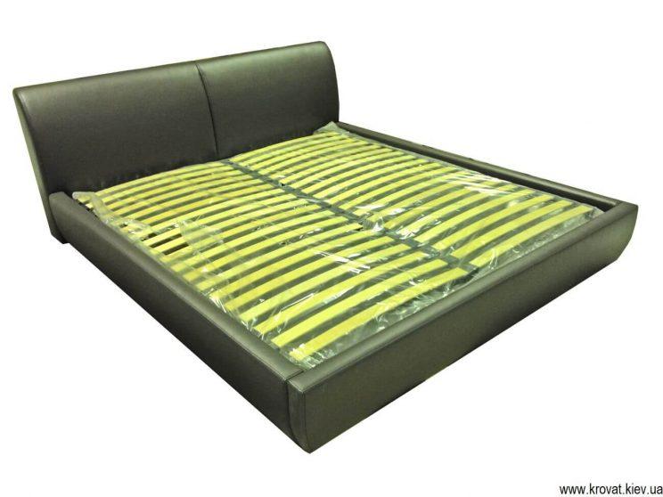 ліжко з невисоким узголів'ям на замовлення