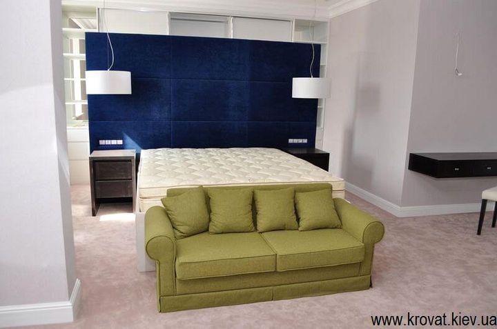 кровати с высокой спинкой на заказ