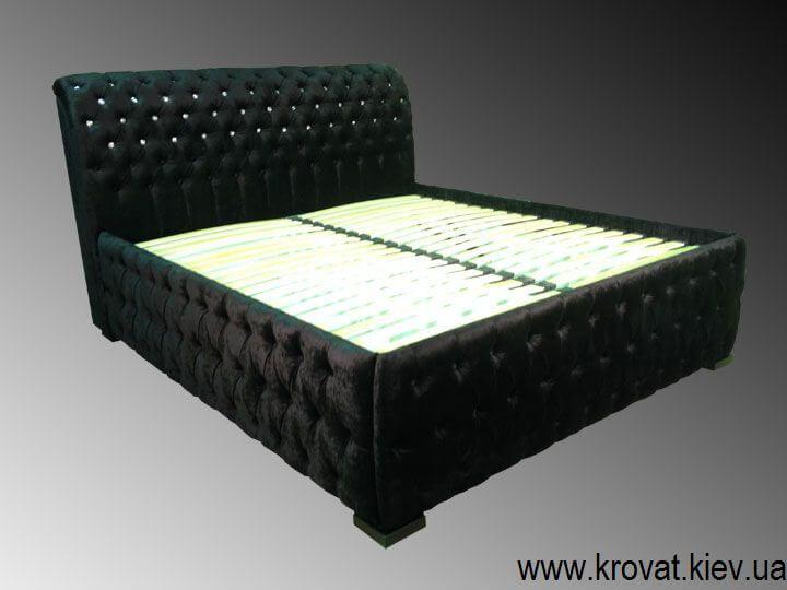 кровать со стразами